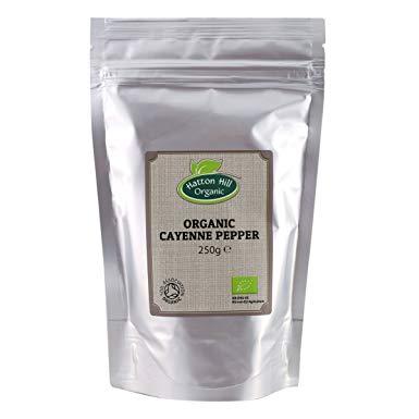 Ekologisk Cayenne Pepper 250g - Certifierad Ekologisk