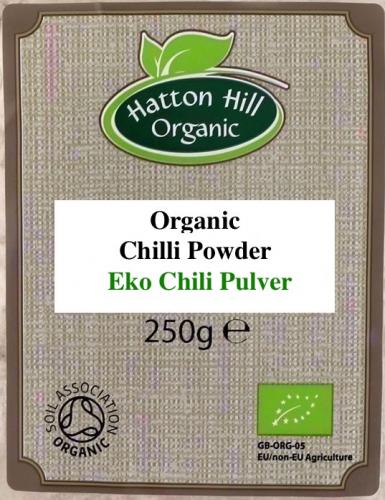 Ekologisk Chili Pulver / ​Organic Chilli Powder Catering Pack 250g
