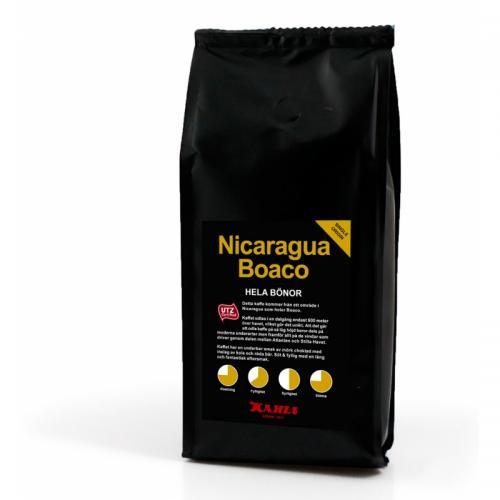 Nicaragua Boaco 250 g Helt Kaffe ( UTZ )