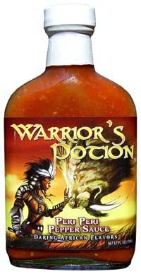Warrior's Potion Peri Peri Pepper Sauce