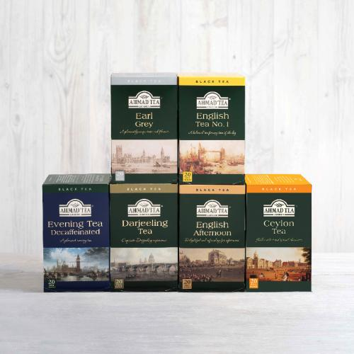 AFTERNOON TEA BUNDLE ( 6 x 20 Teabags )