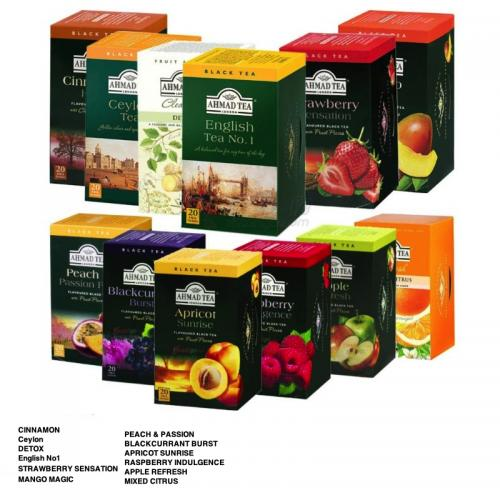 Ahmad Tea 20 Teabags Fruit Collection