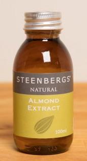 Naturlig Mandel extrakt  / Natural Almond Extract 100ml