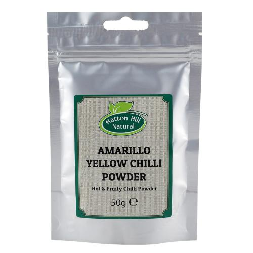 Amarillo yellow chili powder 50gr