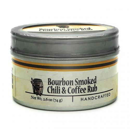 Bourbon Barrel Bourbon Smoked Chili & Coffee Rub (74g)