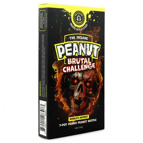 Blazing Foods | The Insane Peanut Brutal Challenge 170gr