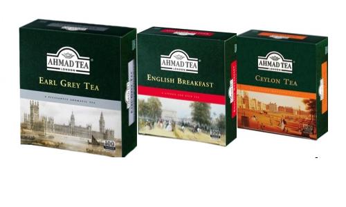 AHMAD Tea100 Teabag Bundle