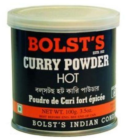 Bolst's Curry Pulver Hot 100 g