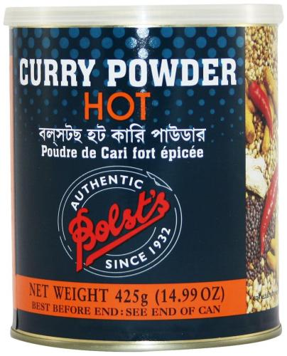 Bolst's Curry Pulver Hot 425 g