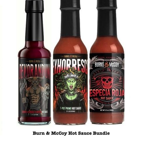 Burn & McCoy Hot Sauce Bundle