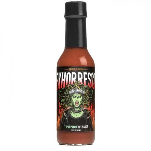 BURNS & MCCOY EXHORRESCO 7 POT PRIMO HOT SAUCE 148ml
