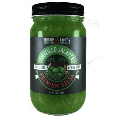 Burns & McCoy TOMATILLO JALAPENO MINT SALSA 454 g