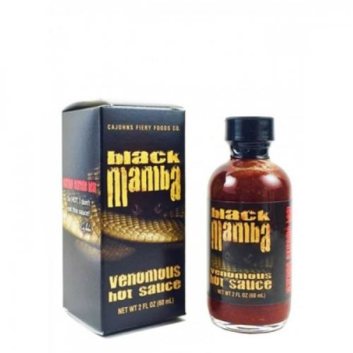 BLACK MAMBA - VENOMOUS HOT SAUCE 60ml