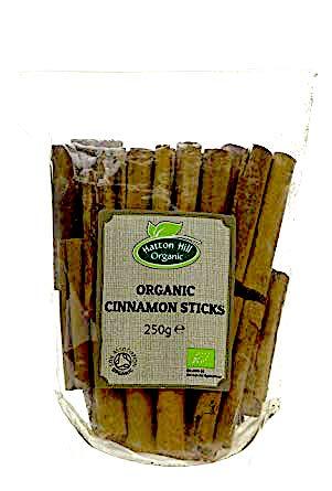 Ekologisk kanelstänger / Organic Cinnamon Sticks Catering Pack 250g