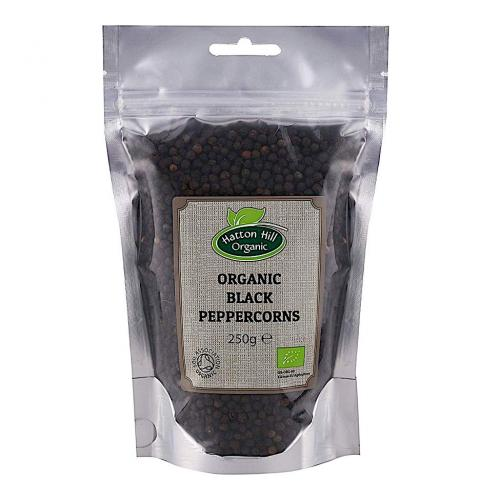 Ekologisk Svarpeparkorn / Organic Peppercorn Black Catering Pack 250g