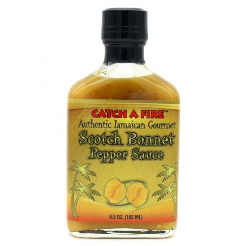 Catch A Fire Scotch Bonnet Pepper Sauce (192ml)