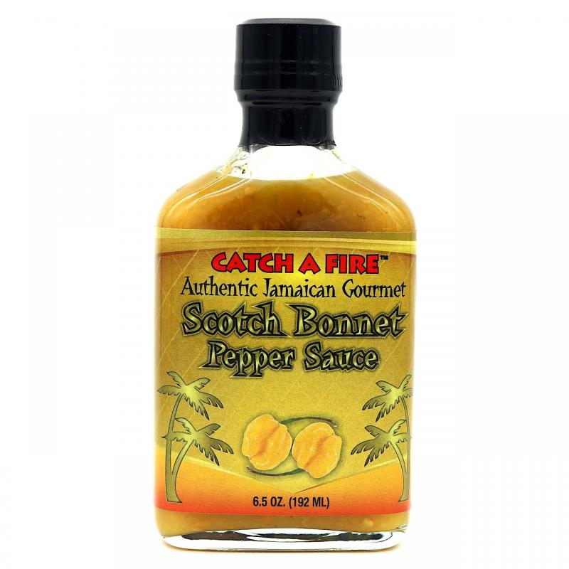 Catch A Fire | Scotch Bonnet Pepper Sauce 192g