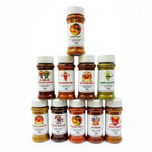 Chilli Powder - Ultimate Collection - Ten of the Worlds Finest Chilli Powders
