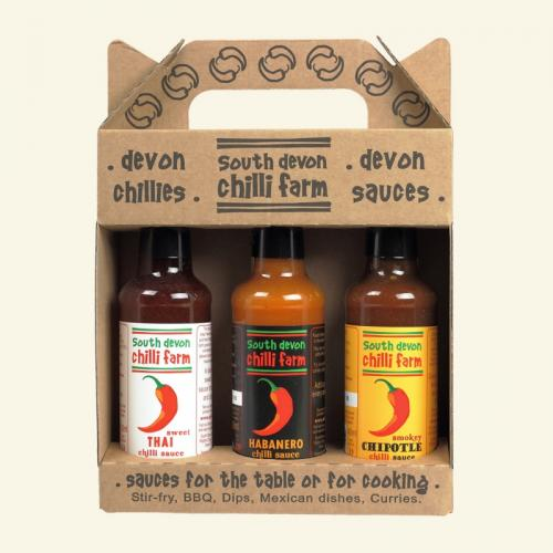 ​Chilisås presentförpackning 3 Flaska / Chilli Sauce Gift Pack 3 Bottle