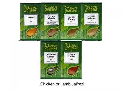 Chicken or Lamb Jalfrezi