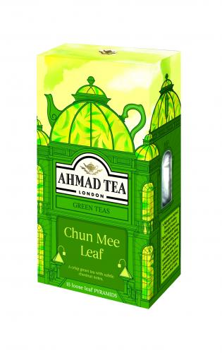 CHUN MEE LEAF 15 Pyramid Tea Bags