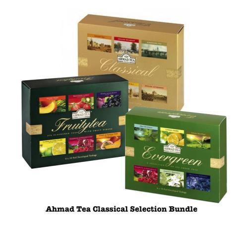 Ahmad Tea Classical Selection Bundle