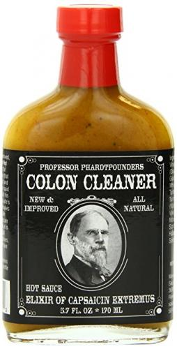 COLON CLEANER HOT SAUCE ELIZER OF CAPSAICIN EXTREMUS 180ml