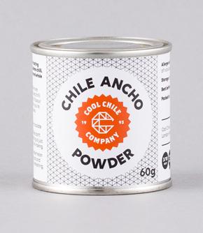 Mexikansk  Ancho Chili Pulver 60gr