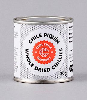 Mexikansk  PIQUIN Chili Hel 30gr