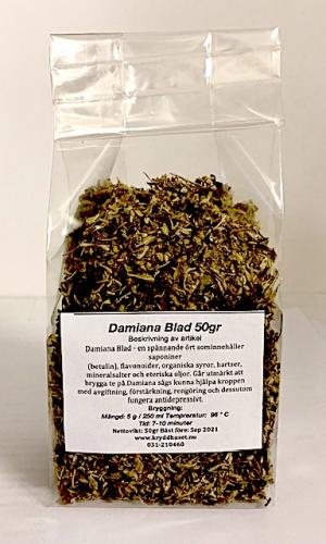 Damiana Blad 50gr