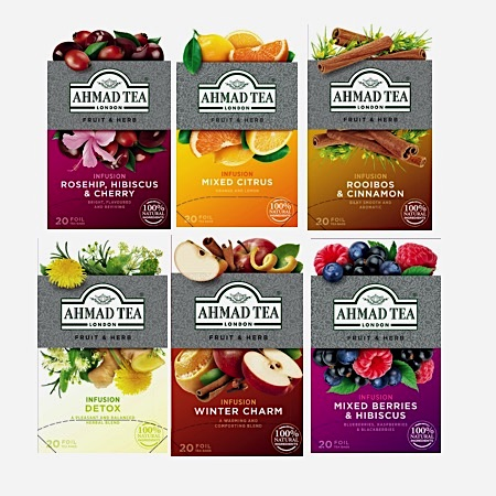 Fruit & Herbal Infusion Bundle 20 tepåsar