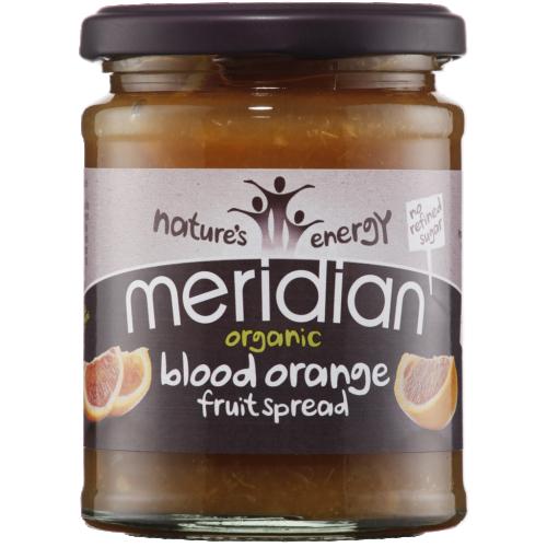 Meridian Ekologisk Blood Apelsin fruikt sylt 284g