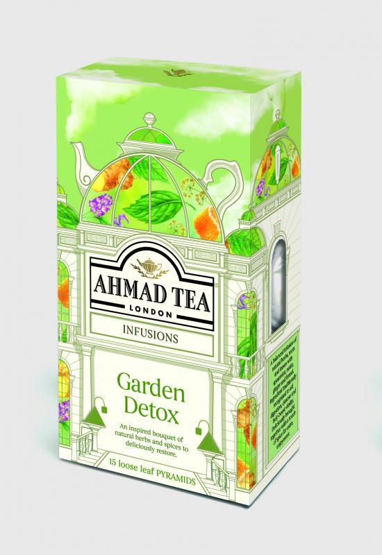 GARDEN DETOX 15 Pyramid Tea Bags