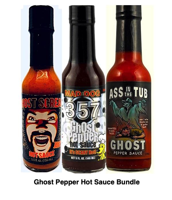 Ghost Pepper Hot Sauce Gift