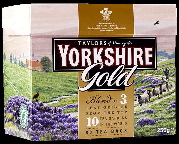 Yorkshire Tea Gold 80 teabag