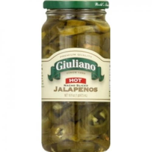 GIULIANO'S NACHO SLICED JALAPENO PEPPERS
