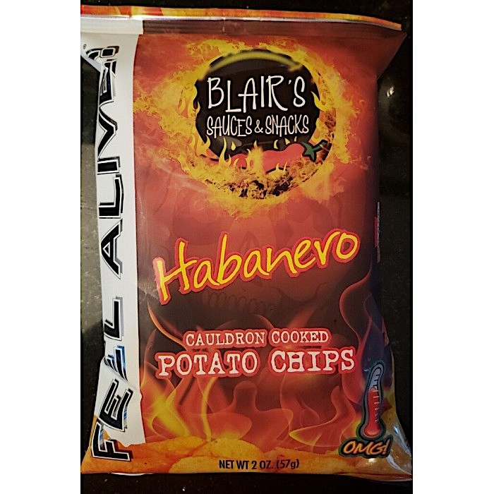 ​BLAIR'S HABANERO CAULDRON COOKED POTATO CHIPS 57g