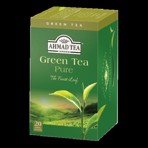 Ahmad Te GRÖNT TE/ GREEN TEA 20 Tepåsar
