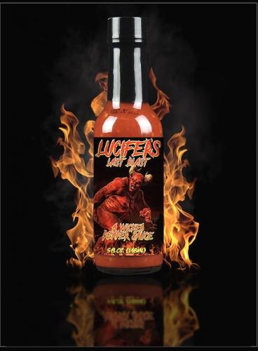 LUCIFER'S LAST BLAST! - A WICKED REAPER HOT SAUCE 148ml