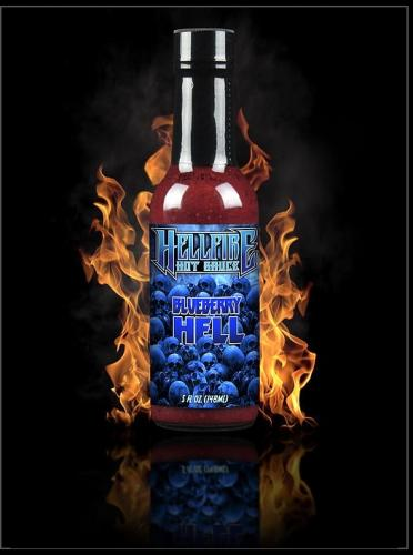 Blueberry Hell W/Carolina Reaper Sauce 148ml