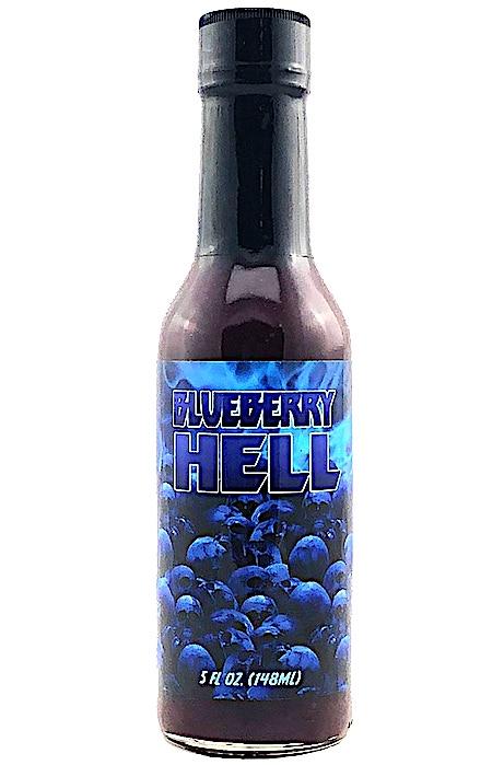 Blueberry Hell W/Carolina Reaper Sauce 148ml