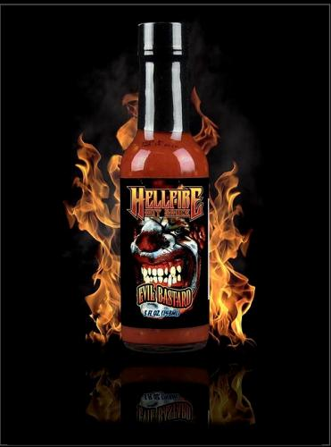 HELLFIRE EVIL BASTARD HOT SAUCE 148ml