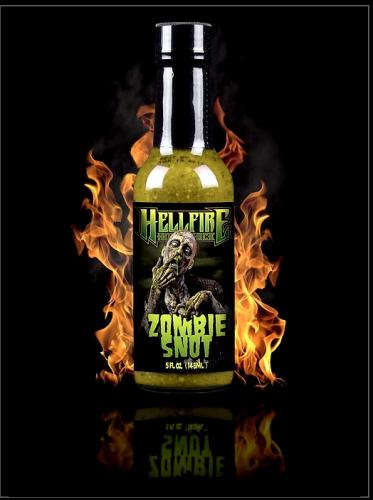 HELLFIRE ZOMBIE SNOT HOT SAUCE 148ml