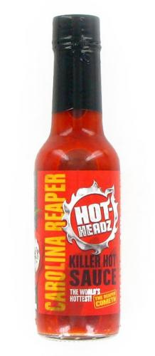 HOT-HEADZ! CAROLINA REAPER KILLER HOT SAUCE 148ml
