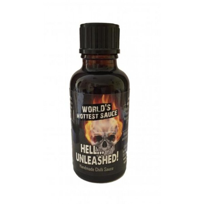Hell Unleashed! The HOTTEST Sauce In The World! 30ml