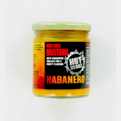 HOT-HEADZ! HABANERO HONEY CHILLI MUSTARD