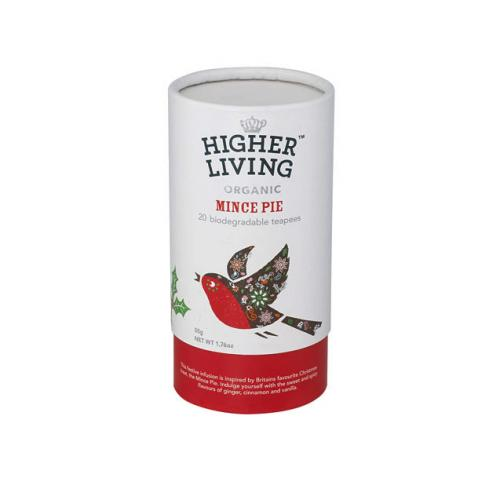 HIGHER LIVING ORGANIC CADDY TUBE MINCE PIE
