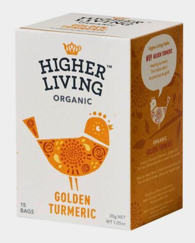 Ekologisk Golden gurkmeja te 15 tepåse