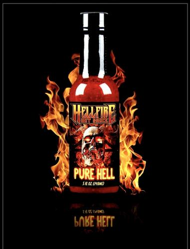 Pure Hell Sauce 148ml