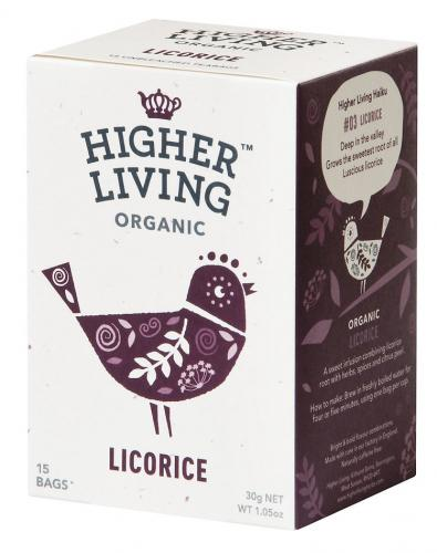 Higher Living ​​Licorice 15 teabag